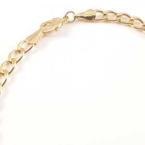 Bratara 22 cm placata cu aur Forbidden1