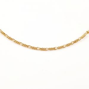 Lantisor placat cu aur 50 cm Aqua1