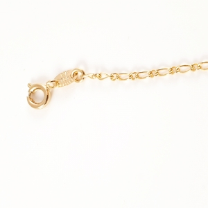 Bratara pentru picior placata cu aur Beatrix4
