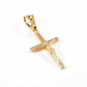 Cruciulita placata cu aur Oracle0