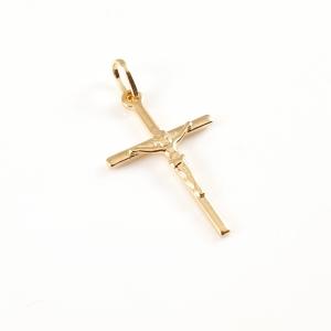 Cruciulita placata cu aur Ascension0