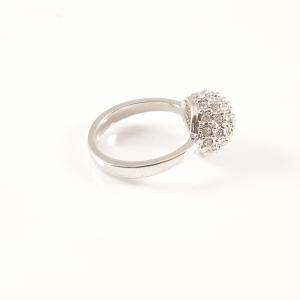 Inel placat cu aur alb Proposal2