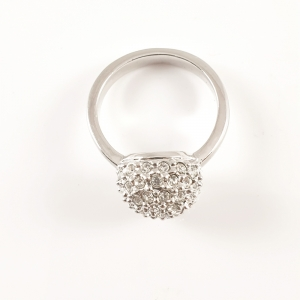 Inel placat cu aur alb Proposal4