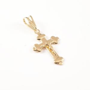 Cruciulita placata cu aur Abraham0