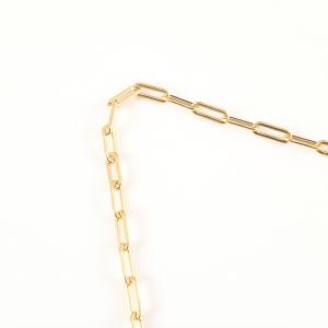 Lantisor placat cu aur 44 cm Mr Doktor3