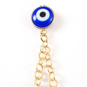 Bratara placata cu aur Blue Egeea4