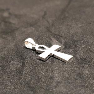 Cruciulita din argint rodiat Saint George1
