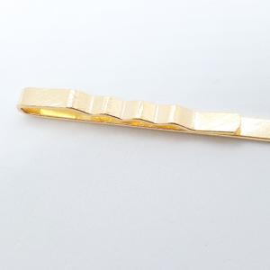 Ac de cravata placat cu aur Nikko3