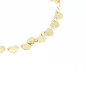 Bratara tip salba pentru femei placata cu aur 19-24 cm Urgency1