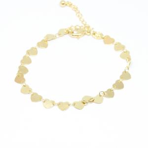 Bratara tip salba pentru femei placata cu aur 19-24 cm Urgency0