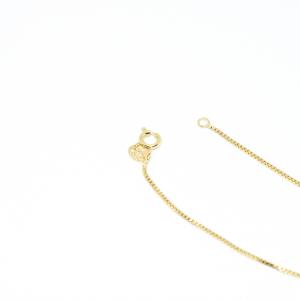 Bratara pentru glezna placata cu aur 25 cm Medieval2
