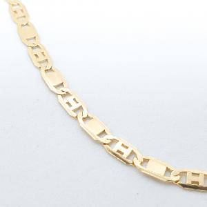 Bratara unisex 22 cm placata cu aur Guantanamera2