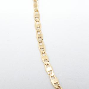 Bratara 19 cm placata cu aur Emilio1
