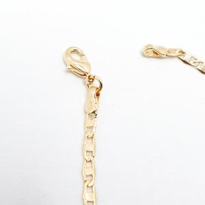 Bratara 19 cm placata cu aur Emilio2