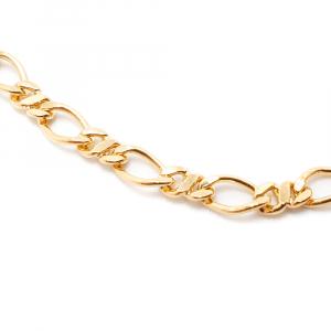 Bratara 22 cm placata cu aur Remus1