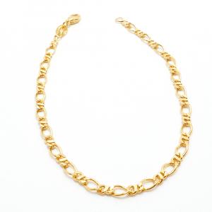 Bratara 22 cm placata cu aur Remus2