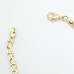 Bratara 22 cm placata cu aur Kharim3