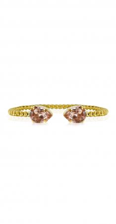 Bratara cu cristale Swarovski dublu-placata cu aur Caroline S. [0]
