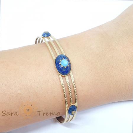 Bratara cu pietre naturale Lapis Lazuli [7]