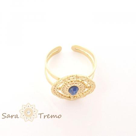Inel cu piatra naturala Lapis Lazuli [3]