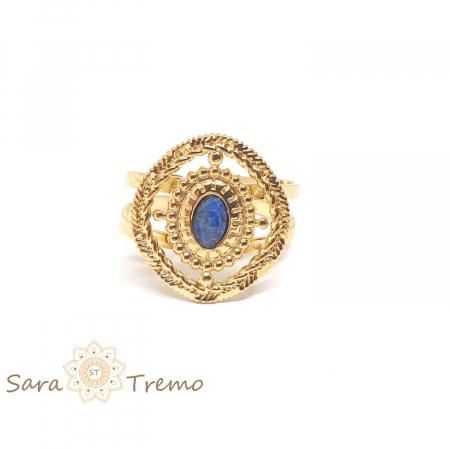 Inel cu piatra naturala Lapis Lazuli [1]