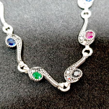 Bratara luxury din argint Maldive0