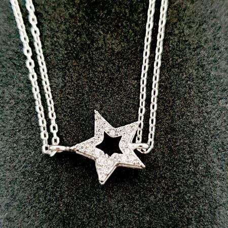 Bratara dubla din argint Devos [0]
