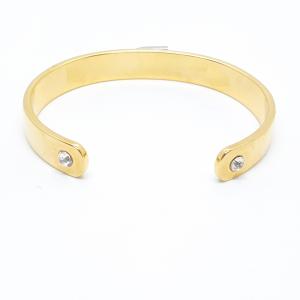 Bratara fixa placata cu aur DiTremo5