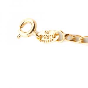 Bratara 15 cm pentru copii placata cu aur Sunny2