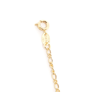 Bratara pentru glezna placata cu aur 18-23 cm Cupio5