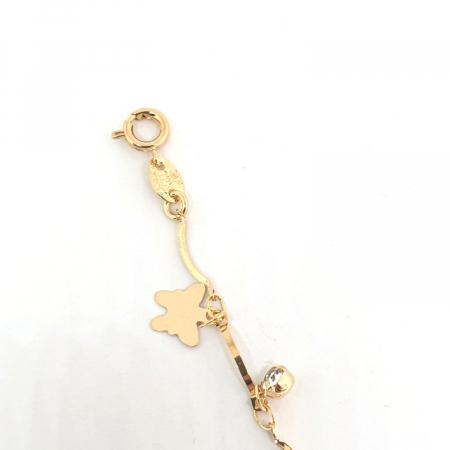 Bratara pentru picior placata cu aur 19-25 cm Relation [3]