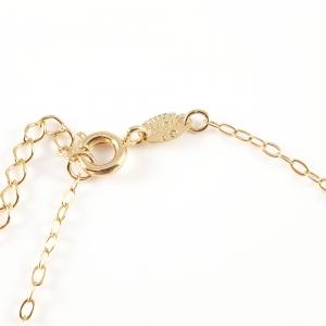 Bratara pentru picior placata cu aur Mary Ann5