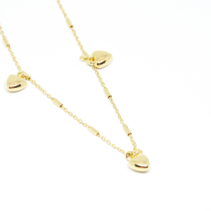 Bratara pentru glezna placata cu aur SaraTremo [0]
