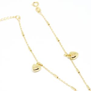 Bratara pentru glezna placata cu aur SaraTremo [2]