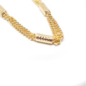 Bratara placata cu aur 18 cm FYI1