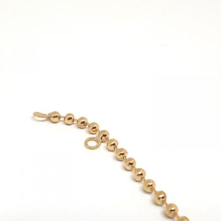 Bratara placata cu aur 17-19 cm Tennis6