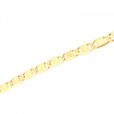 Bratara placata cu aur 22 cm Exoss1