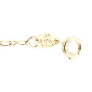 Bratara 22 cm placata cu aur Abbie3