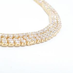 Bratara luxury 19 cm placata cu aur Modernize2