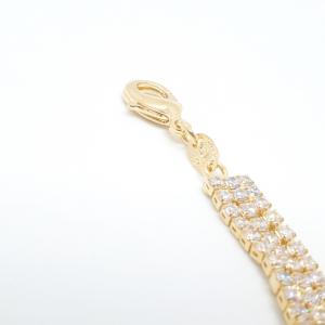 Bratara luxury 19 cm placata cu aur Modernize3