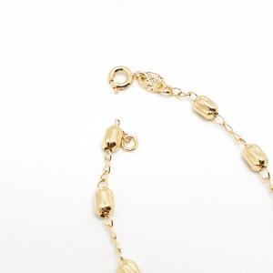 Bratara tip rosariu placata cu aur Priestess5