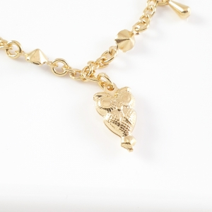 Bratara placata cu aur Owl2
