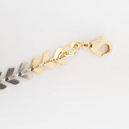 Bratara luxury placata cu aur 19-24 cm England3