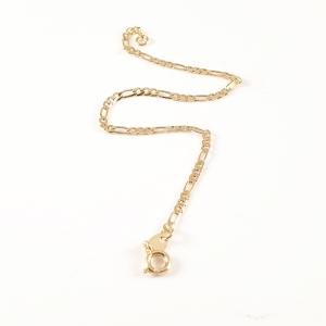 Bratara 22 cm placata cu aur Fancy0