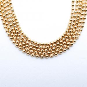 Bratara 19-23 cm placata cu aur Joy3