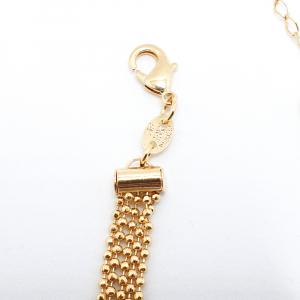 Bratara 19-23 cm placata cu aur Joy4