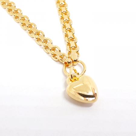 Bratara de picior luxury placata cu aur 25 cm Flow of Love [1]