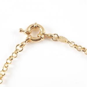 Bratara 22 cm placata cu aur Luann2