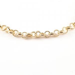Bratara 22 cm placata cu aur Luann1