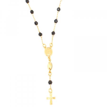 Bratara tip rosariu placata cu aur 19 cm Kallea2